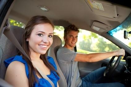 Driving: Teens in Car