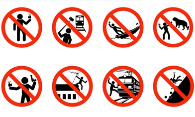 From a Russian Selfie Safety campaign