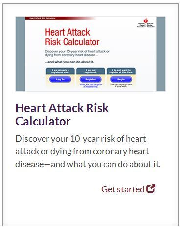 heart attack risk