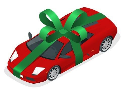 new car for Christmas