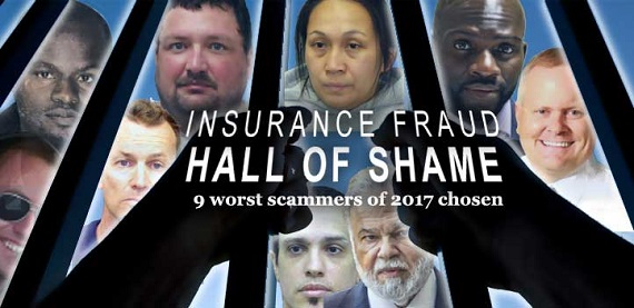 insurance fraud - roundup of perpetrators