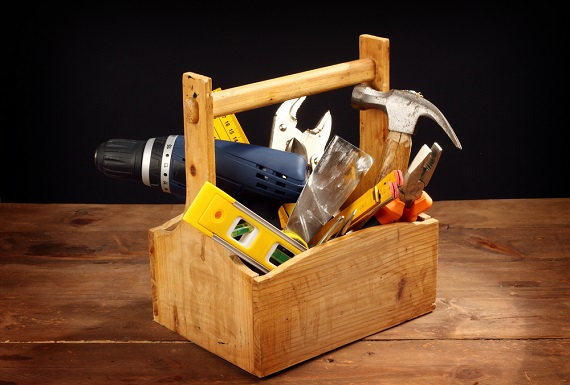 home maintenance tool box