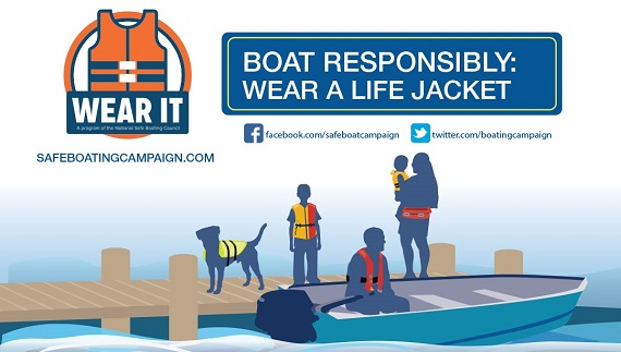 boating safety graphic