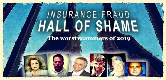 Insurance Fraud Hall of Shame banner